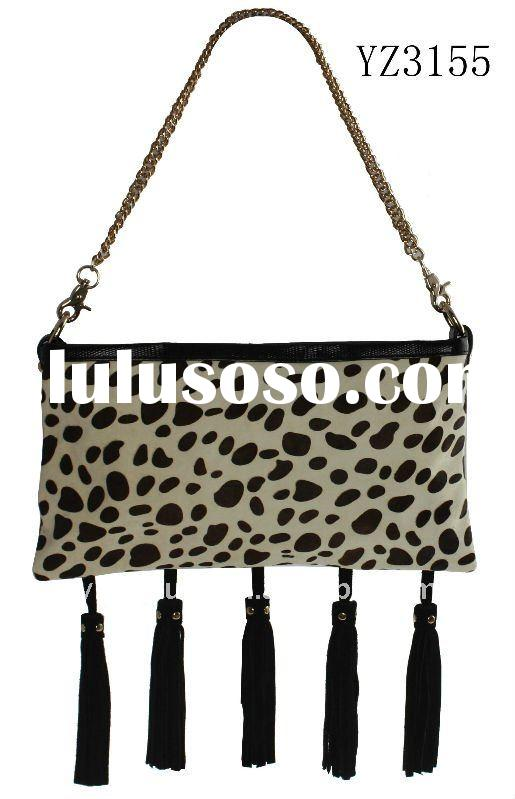 New  Ladies Shoulder Bag With Animal Skin