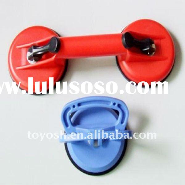 glass suction cups with plastic handle