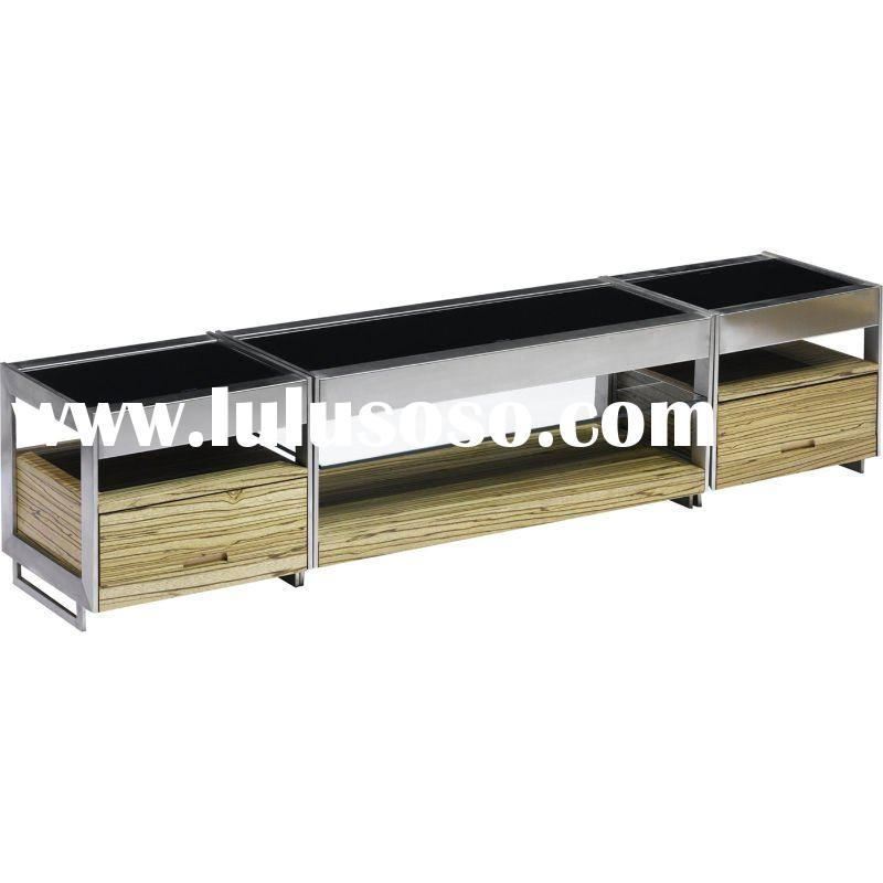 tempered glass TV Stand  NA11-27
