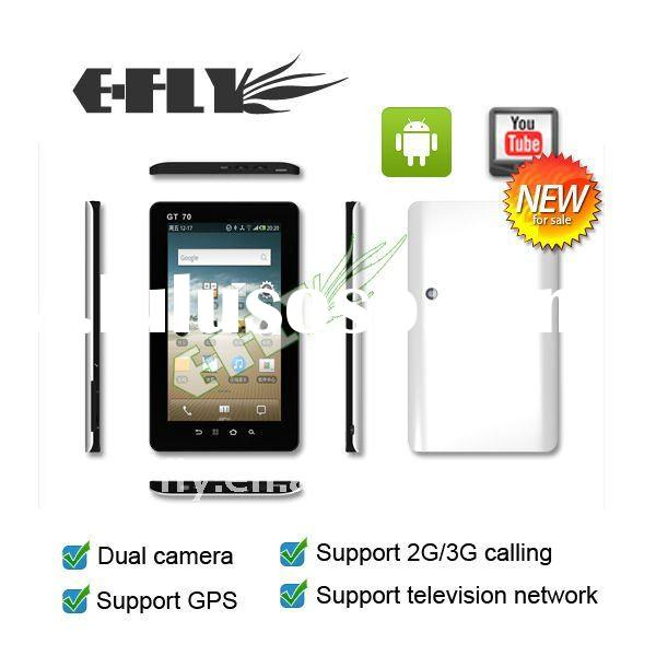 7 inch Phone Call Tablet PC, Build-in 3G & GPS, Android 2.2
