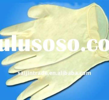 "9""disposable latex glove"
