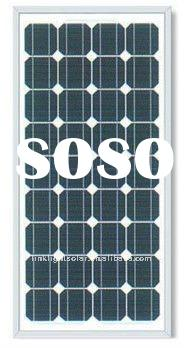 High Efficient 150W/18V Mono Crystalline PV Panel