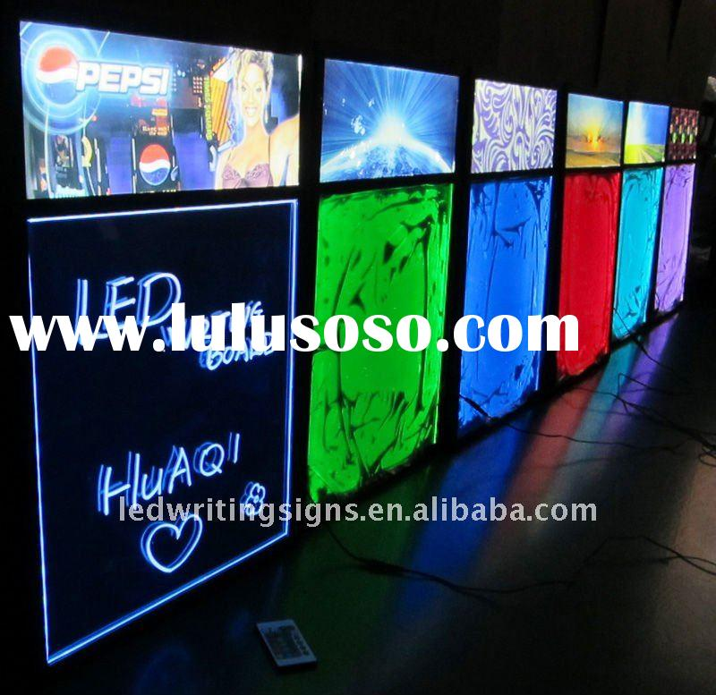 LED menu Board HQ584 acrylic 12V outdoor for sale - Price