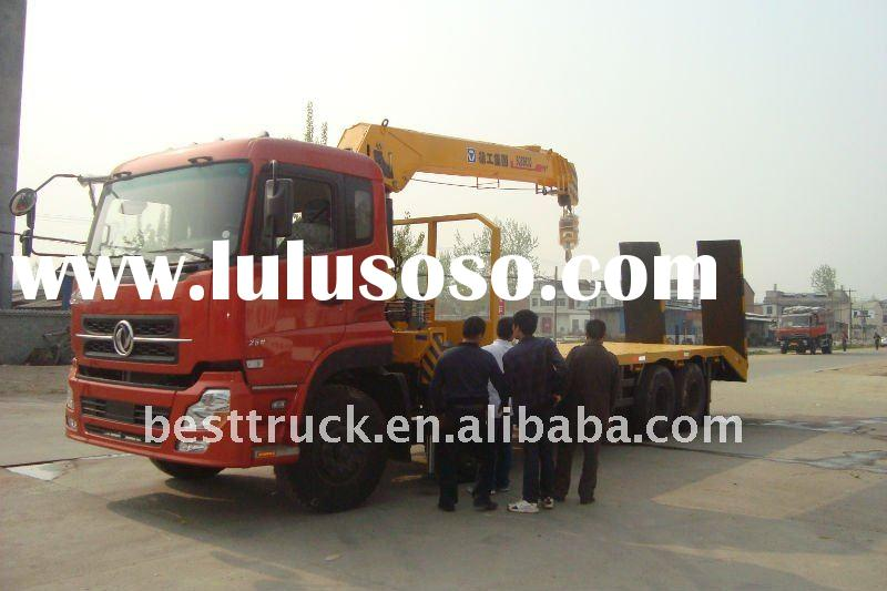Large    truck  with crane