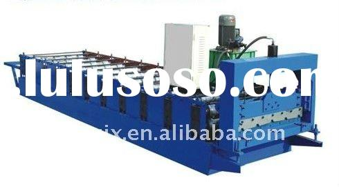 QJ color steel roll forming machinery with CNC