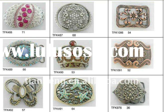 fashion buckle with diamond and stone,lady buckle, accessory,metal buckle,belt accessory (TFK487,TFK