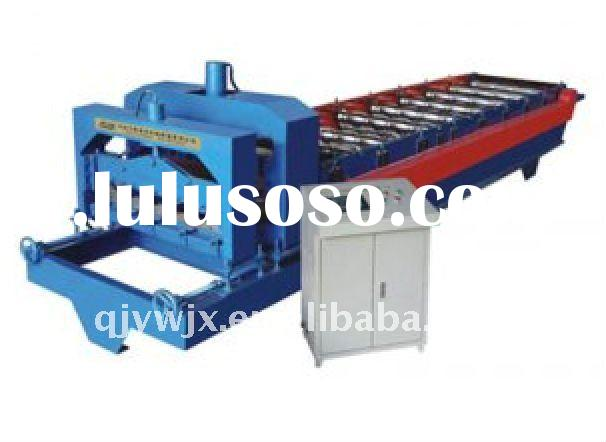 glazed tile roofing roll forming machine with CNC