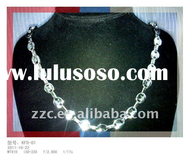 2011 fashion stainless steel necklace