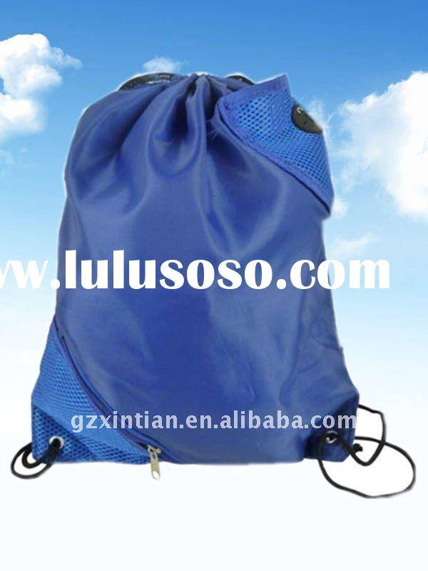 High quality Customized Drawstring Nylon Shopping bag XT-F10227