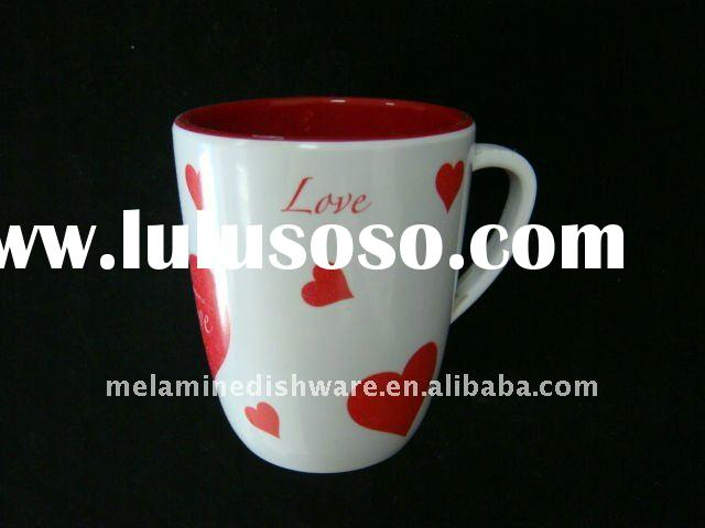 Printing  melamine cup with handle