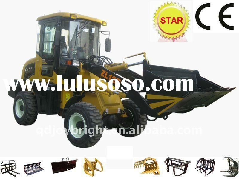 ZL12F front end wheeled loader,4WD,loading 1200kgs,Changchai Engine CE prove