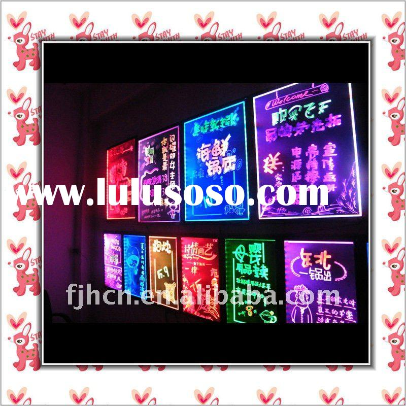 2011 Hot sale LED flourescent board promotion