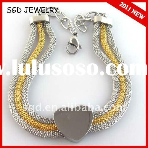 2011 NEW stainless steel bracelet with good design