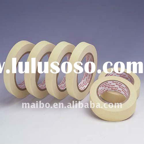2011 New crepe paper single side rubber masking tape