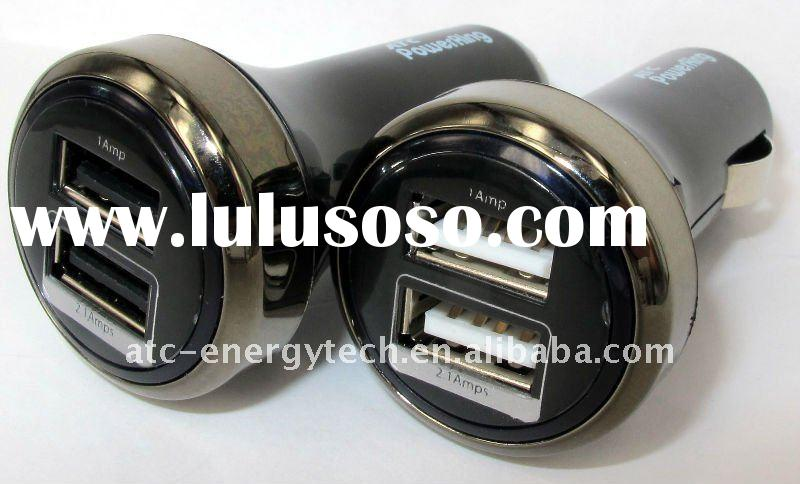 2 usb Car Charger for 3.1A Electric Devices