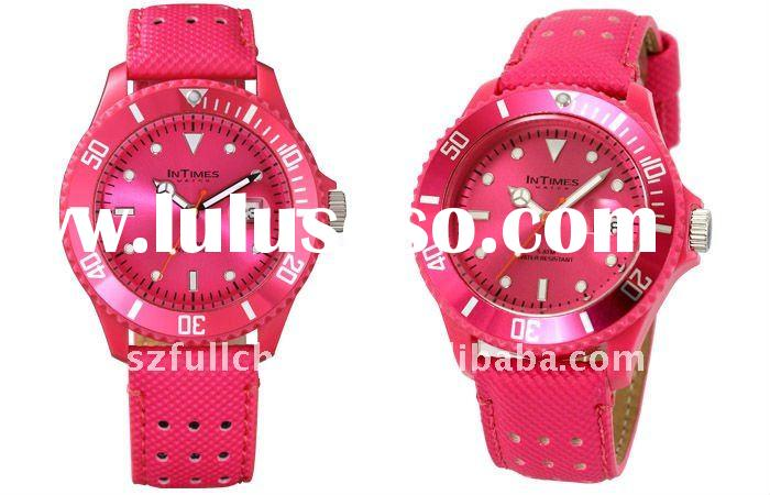 HOT sale promotional plastic watch