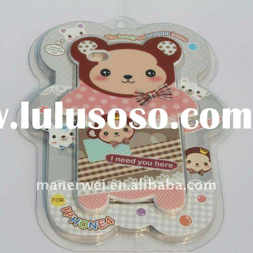 Lovely cartoon TPU case for iphone 4 4S~~New arrival!