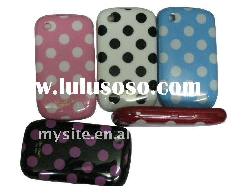 New Style Cell Phone TPU IMD Case Covers for Blackberry Curve 8520/9700