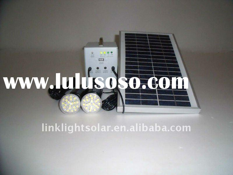 Solar Power System for Home Use with 5W Solar Panel
