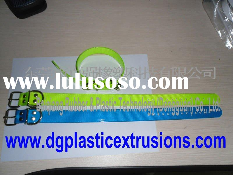 dog collar or pet collar be made of TPU coated webbing