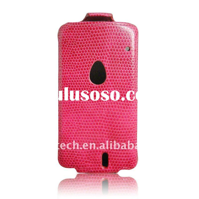 flip leather case for Sony Ericsson MT15i