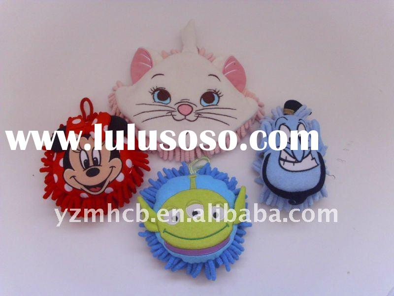 mop cloth cartoon characer hanging adorn