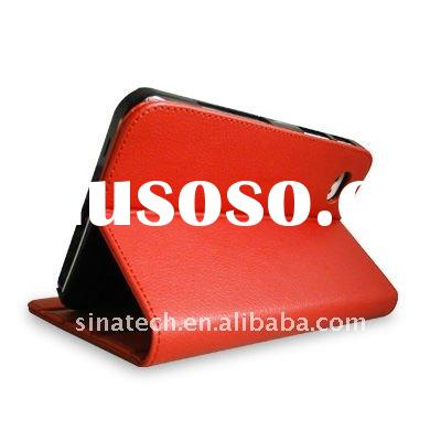 multi-angles stand leather for samsung galaxy tab p1000