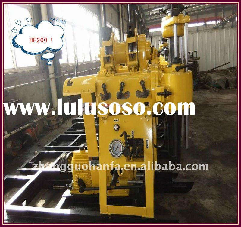 super star hydraulic drill rig !!! HF200 portable SPT drilling equipment