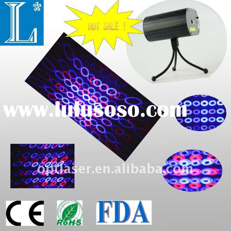 445 nm 100~200 mW blue laser with 650nm 100 mW mini  disco laser