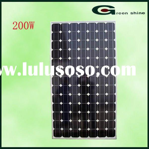 Factory Manufacture Solar Panel Competitive Price
