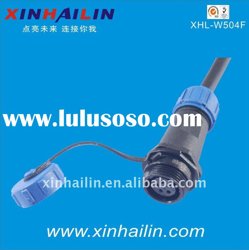 3 Pin Male Female With Cap Waterproof Connector IP68