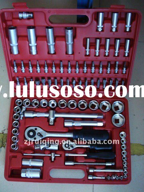 94 socket wrench bit set-94pc combination socket wrench set in a box