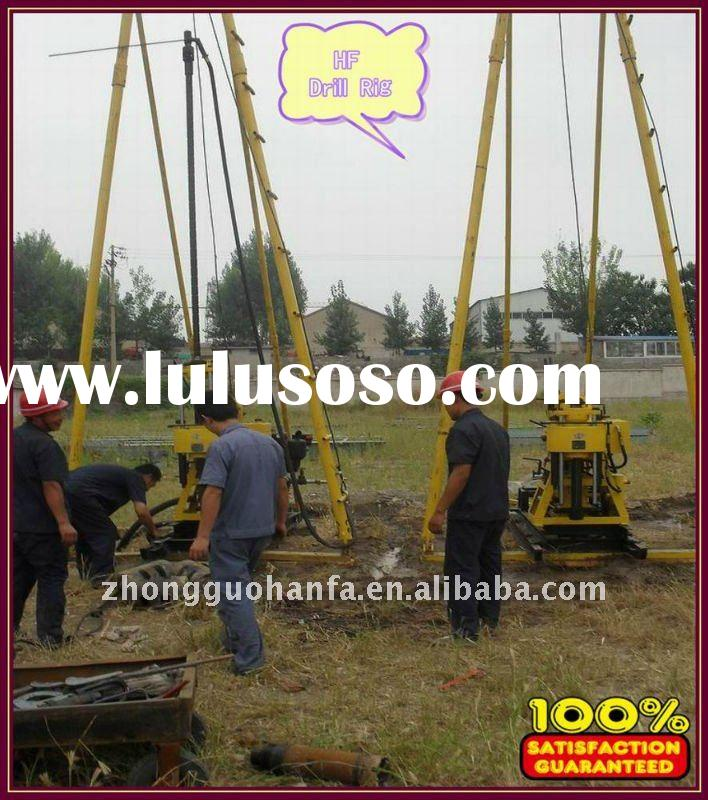 Easy-handling ,Economic,Good performance core drill rigs !!! small trailer water drilling machine  ,