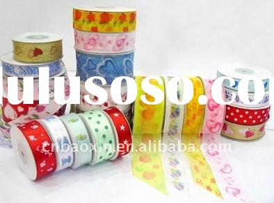 Fashion chiffon organza ribbon