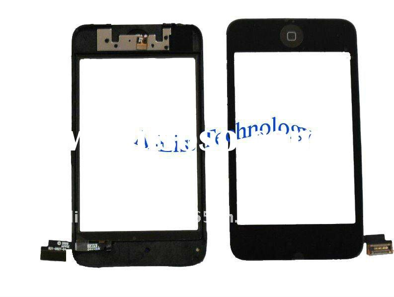 For ipod touch 2nd gen Digitizer Screen with frame assembly