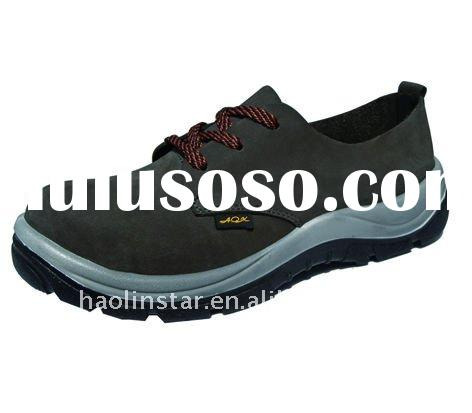 Hot sale emossed safety leather shoes HL-A011 K(S)