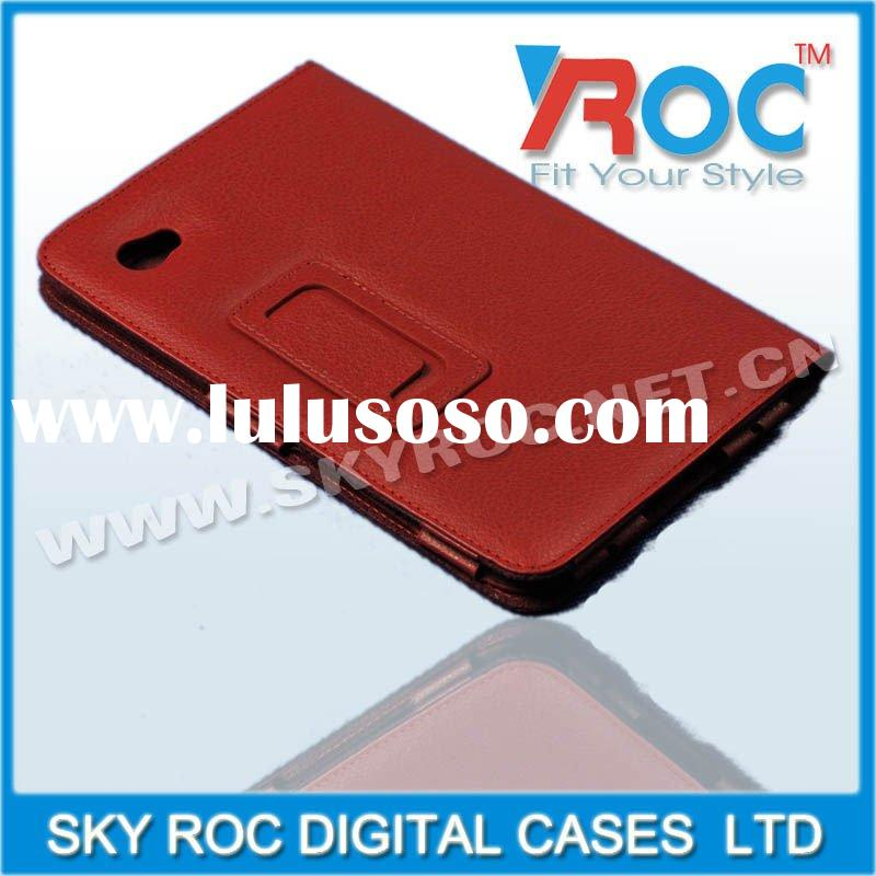 Leather protective case for SAM P1000 phone housing