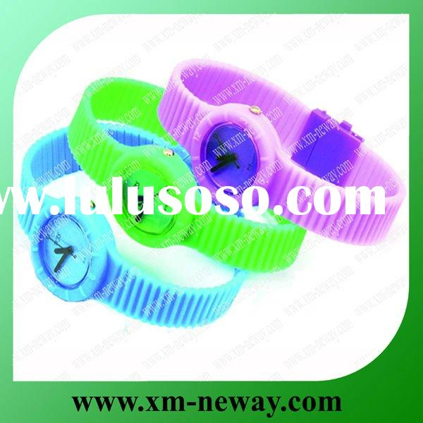 New style silicone watches 2011