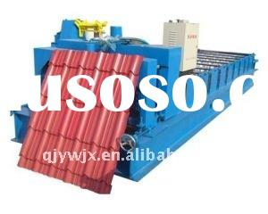 automatic glazed tile roll forming machine with 300H steel