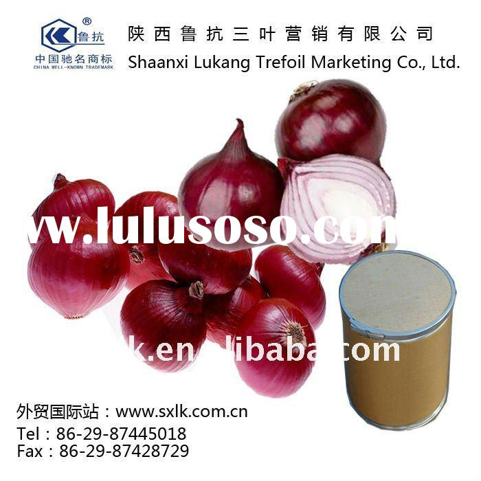 chinese Pure Nature onion extract powder with quercetin(GMP.HACCP)