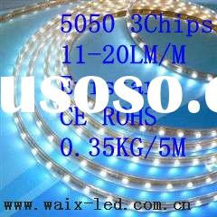 warm white/super bright 3528/5050 led strip light with CE&RoHS(DC12/DC24V)