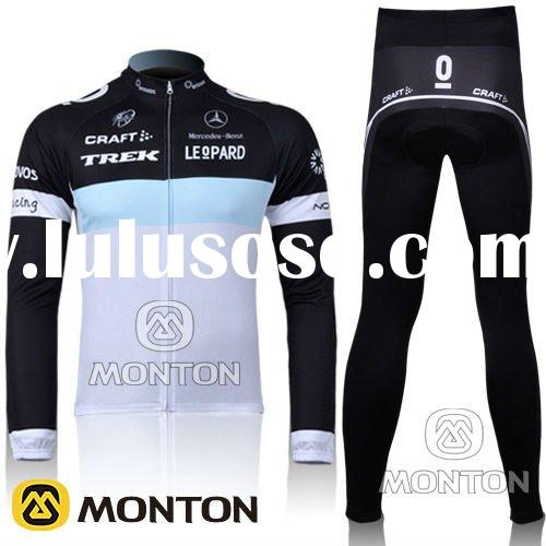 2011 Pro team TREK cycling wear/long jersey & pants/quick dry/cycling clothing