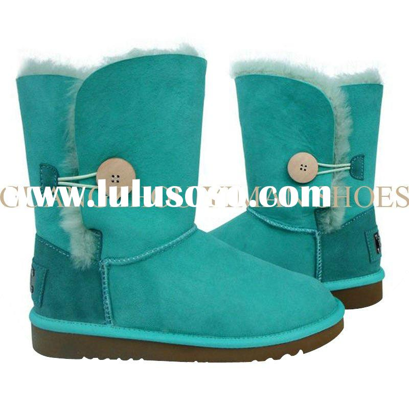 2012 newest suede leather snow boot