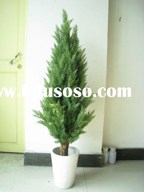 Artificial cypress tree
