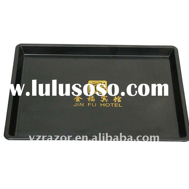 Hotel plastic square serving tray