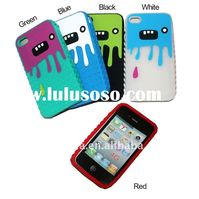 for Apple iphone 4 case Silicon Devil