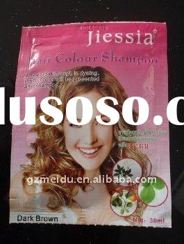 30ml Chemical free sachet hair colour shampoo