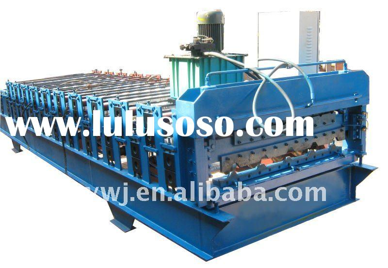 C10/840 double layer color steel tile making machine