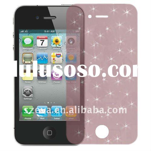 Colorful Diamond screen protector for iPhone4