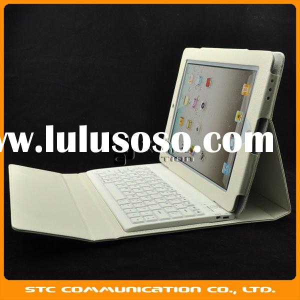 Keyboard for iPad2,Bluetooth Keyboard for Apple iPad 2,Leather case+wireless bluetooth keyboard for